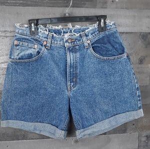 Levi's Cut Out Shorts